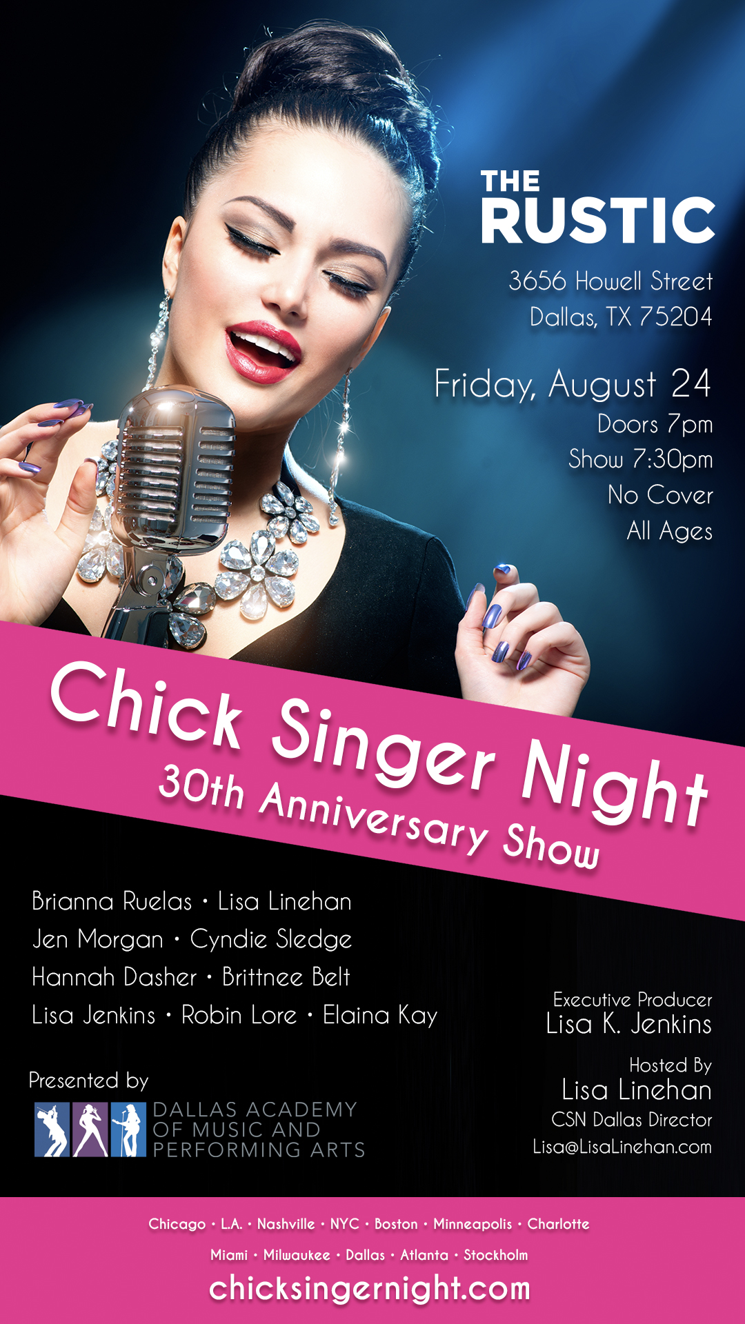 Chick Singer Night The World S Longest Running Talent